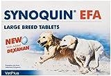 Vetplus Synoquin EFA - Suplemento para perros razas grandes,