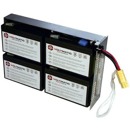 RBC24 Batteria di ricambio per gruppi di continuità UPS APC, plug and...