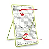 Rukket Tennis Practice Rebounder Net | Rebound Wall for Tennis & Racquet Sports Ball | Portable...