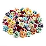 NWSX - Flores de Seda Artificiales, 30 Unidades de 3,5 cm