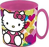 Hello Kitty–Tazza plastico Micro 350ml, Stor 82204)