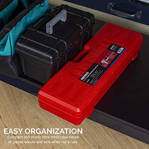 NEIKO 02236A Slide Hammer | 17 Pc Automotive Bearing Hub Puller Kit | Axle Seal Pulling