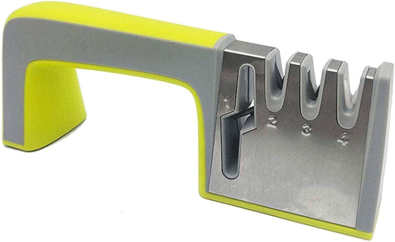 AXIANQI Schärfstein Haushalt Edelstahl Multifunktions Schärfstein Küchenutensilien 23,5 cm  9,5 cm  6,5 cm (Farbe   Gelb) B07P3KLP1N