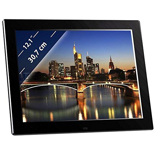 Braun Digitaler Bilderrahmen 21197Display 12Format 4: 3-Player SD/SDHC/MMC/MS schwarz
