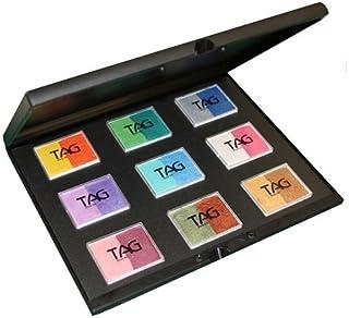 TAG Face Paint 9x50g Pearl Color Split Cake Palette