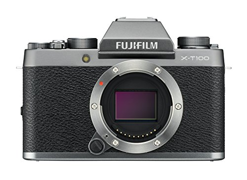Fujifilm X-T100 - Cámara digital , color plata