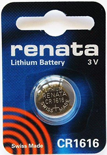 (Renata) Lithium Battery 3V (CR1616) (SWISS MADE)