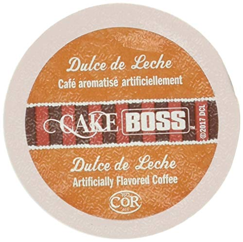 Cake Boss Coffee, Dulce De Leche Flavored Coffee, Single Serve Cups for the Keurig K Cup Brewer, 24Count.