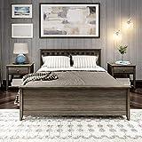 Plank+Beam Bed, Queen, Clay