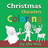 Christmas Characters Coloring