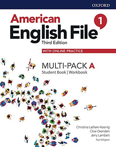 American English File 1A Multi-Pack With Online Practice - 3Rd Ed.