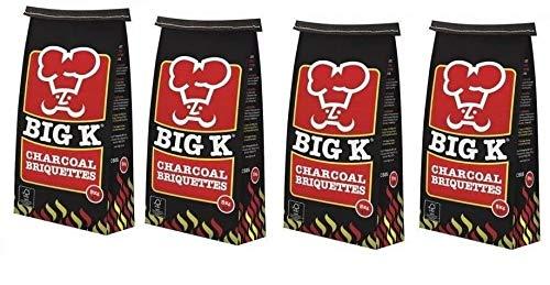 20kg Real Carbón Briquetas Carbón para...