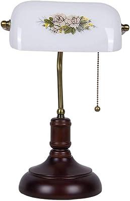 HUANGDA Lámpara de Mesa de Escritorio Retro Lámpara de Escritorio ...