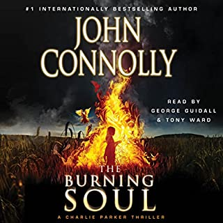 The Burning Soul audiobook cover art