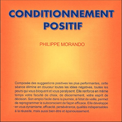 Conditionnement positif audiobook cover art