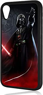 (for iPhone XR) Durable Protective Soft Back Case Phone Cover - A11432 Starwars Darth Vader 11432