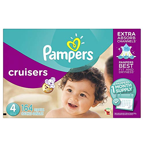 Price comparison product image Pampers Cruisers size 4