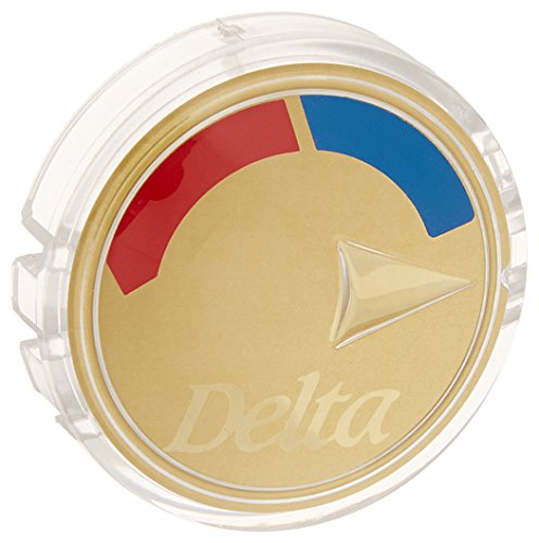 Delta Faucet RP20542PB Hot/Cold Indicator Button for 13/14 Series, Polished Brass
