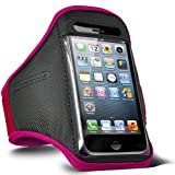 ONX3 Hot Pink Sports Funda impermeable para teléfono móvil compatible con Wiko Tommy 2 Plus