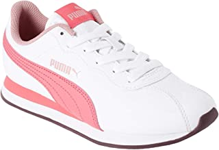 Puma Unisex's Turin Ii Jr White-Calypso Cora Sneakers