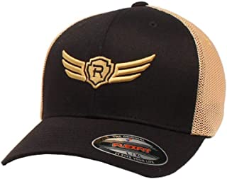 ARIAT Mens Relentless Flexfit Cap Black/Tan