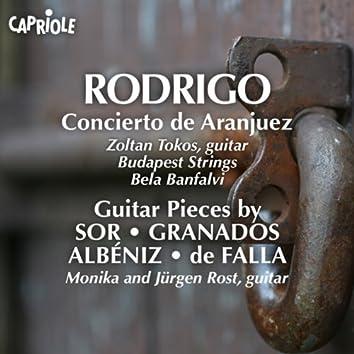 Rodrigo, J.: Concierto De Aranjuez (Tokos, Budapest Strings, Banfalvi) / Guitar Music (Spanish) - Sor, F. / Granados, E. / Albeniz, I. / Falla, M. De