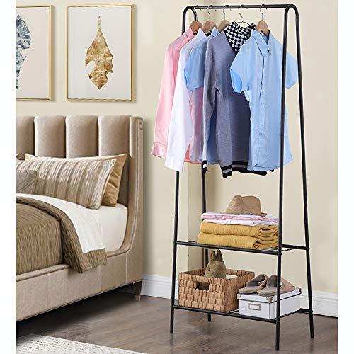 Burro Ropa Perchero de Pie Percheros Burro Multifuncional Colgador para Colgar Ropa para Entrada Vestidor Pasillo Dormitorio