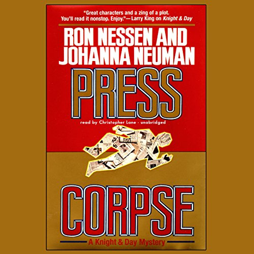 Press Corpse audiobook cover art