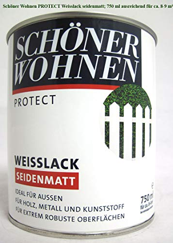 Schöner Wohnen ProfiDur Weißlack seidenmatt 750 ml