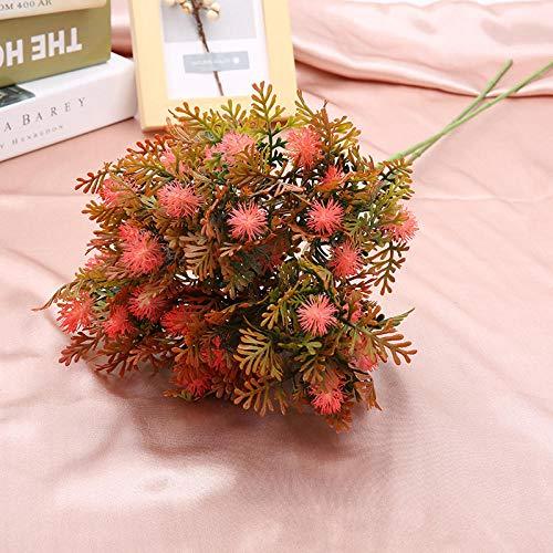 Ymwenj Künstliche Blume Dekorative Kunststoff Blume Simulation Drachenfrucht Tisch Esstisch Dekoration Heimtextilien Kunststoff Blume @ B42 Pulver