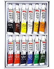 Camel Artist 5ml Water Color Set - 12 Shades (Multicolor)