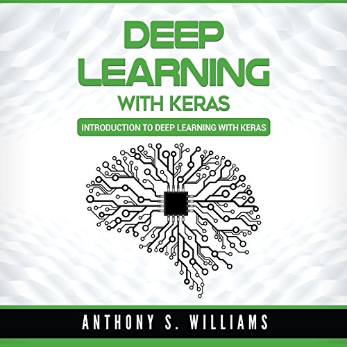 Deep Learning with Keras audiobook cover art