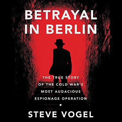 Betrayal in Berlin audiobook cover art