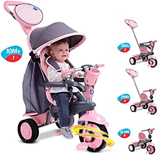 Smart Trike - Swing Triciclo evolutivo, Color Rosa (2036500200)