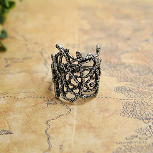 The Hobbit Thranduil Ring Branch Ring Mirkwood elf King Ring LOTR Ring (7)