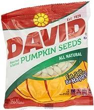 David Seeds, Pumpkin Seeds, 5-Ounce Bags (Pack of 2)