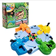Crocodile Swallowing Beads Eating Beans Table Games Four-person Interaction Toys Feeding Swallow Beads Table Game