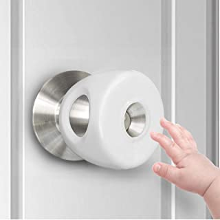 Door Knob Safety Cover for Kids,TUSUNNY Baby Safety Door Handle Cover,Easy to Install and Remove on Doors,Universal Design...