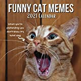 Funny Cat Memes 2021 Calendar: Cats Lover Birthday Christmas Gifts