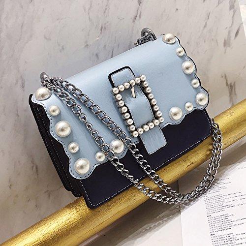 MSZYZ mode schoudertas met een kleine tas afzonderlijk en unieke ketting