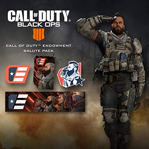 Call Of Duty: Black Ops 4 - Code Salute Pack - PS4 [Digital Code]