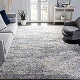 SAFAVIEH Berber Shag Collection BER219G Modern Abstract Non-Shedding Living Room...