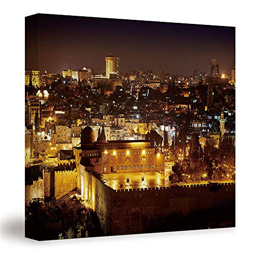 """SUPNON Al Aqsa in/Canvas Wall Art, Mordern Home Decoration 12""""x12"""" №IS071113"""