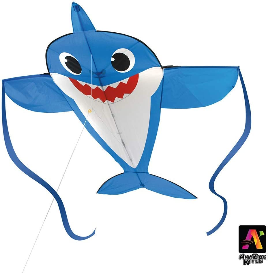 AmaZing Kites Excellent 2D Nylon Baby Shark Kite feet inch Superlatite 65