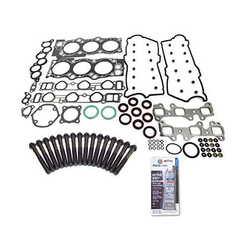 Head Gasket Set Bolt Kit Fits: 92-93 Toyota Camry Lexus ES300 3.0L V6 DOHC 24v 3VZFE