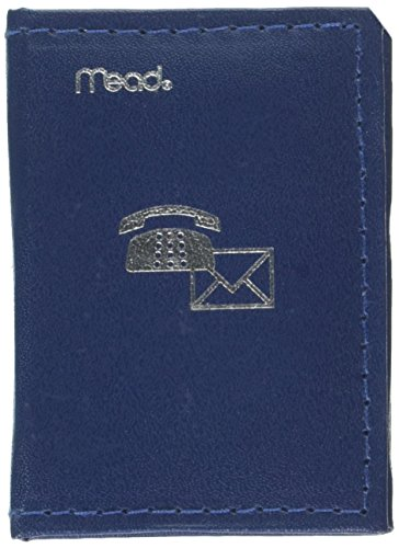 Mead Telefon/Adressbuch, 3–1/10,2cm X2–3/20,3cm verschiedene Farben, Farbe wird variieren, 1Buch (67140Duschtuch Zero Twist)
