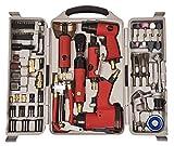 Am-Tech - Kit attrezzi ad aria compressa, 77 pezzi...