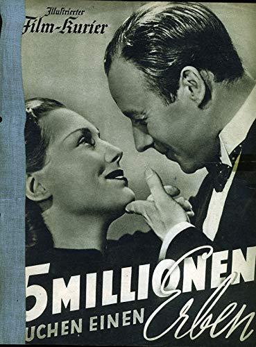 5 Millionen suchen einen Erben - A4 - Illustrierter Film-Kurier ungelocht