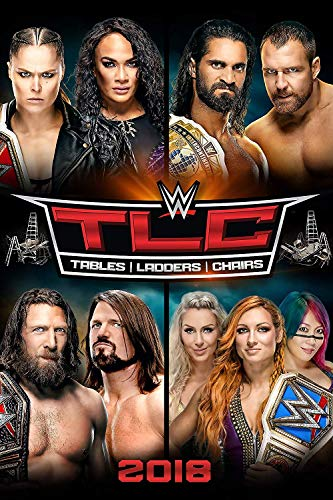 WWE: TLC: Tables, Ladders & Chairs 2018 (DVD)