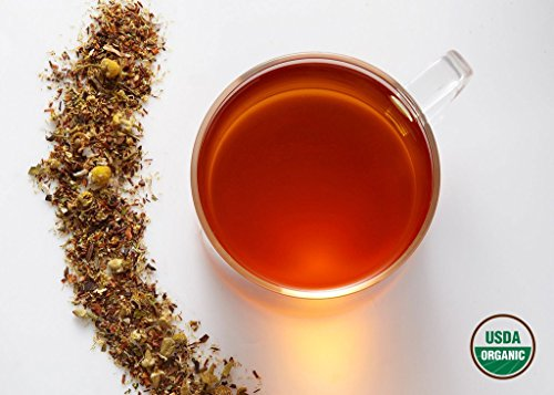 Komo Tea BEDTIME BUDDA Herbal Tea - All Natural & 100% Organic Premium Loose Leaf Tea (2oz / 30 cups)